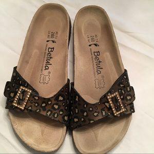 Birkenstock Betula size 9 embellished sandals.